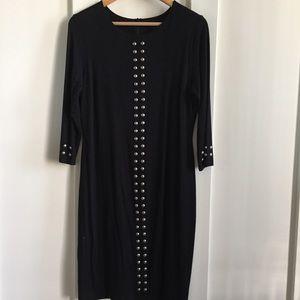 Karen Kane Nordstrom black dress size large